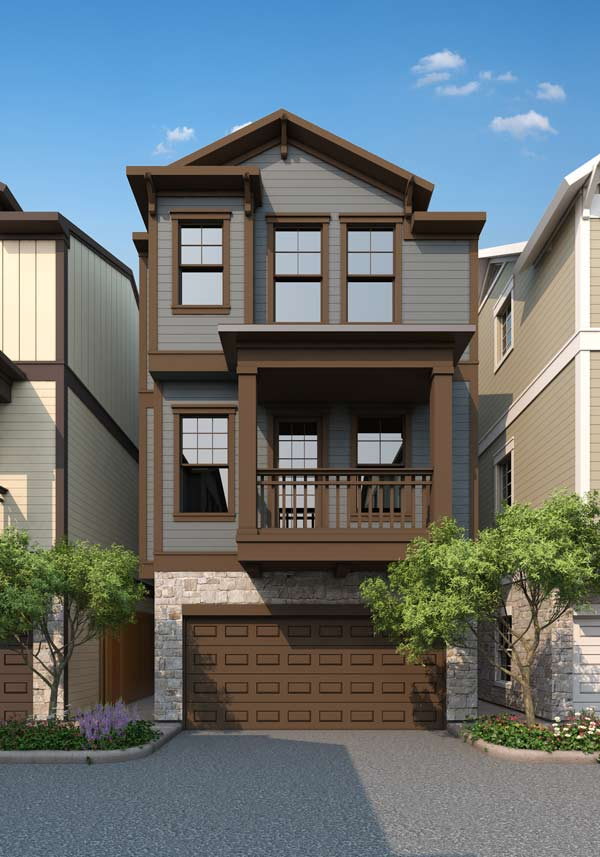 Villas at Garrett – Rendering