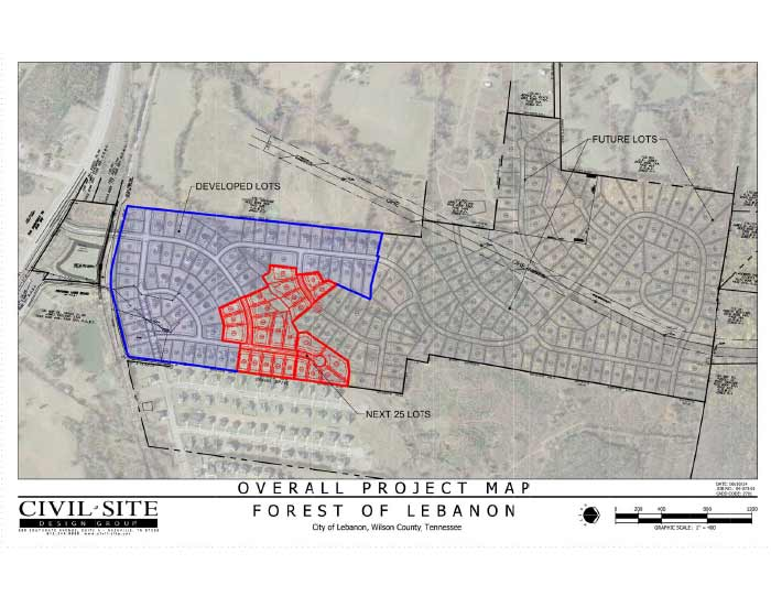 Forest of Lebanon – Site Plan