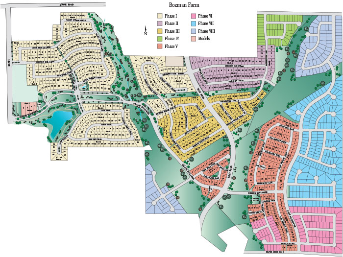 Bozman Farms – Site Plan