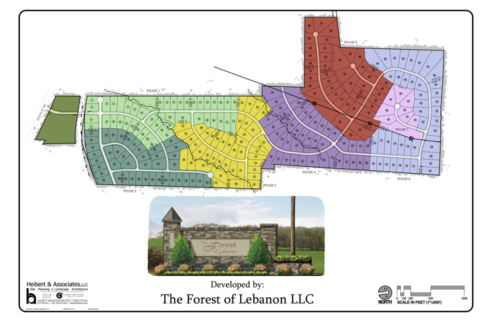 Forest of Lebanon – Concept Plan